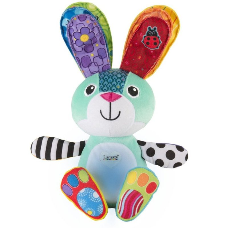 Image of   Lamaze Bamse Med Lys Og Lyd - Sonny The Glowing Bunny