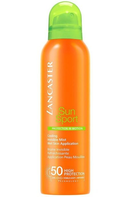 Image of   Lancaster Sun Sport - Cooling Invisible Mist Sol Spray - Spf50 200 Ml