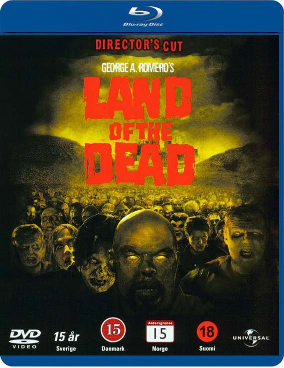 Image of   Land Of The Dead - Blu-Ray