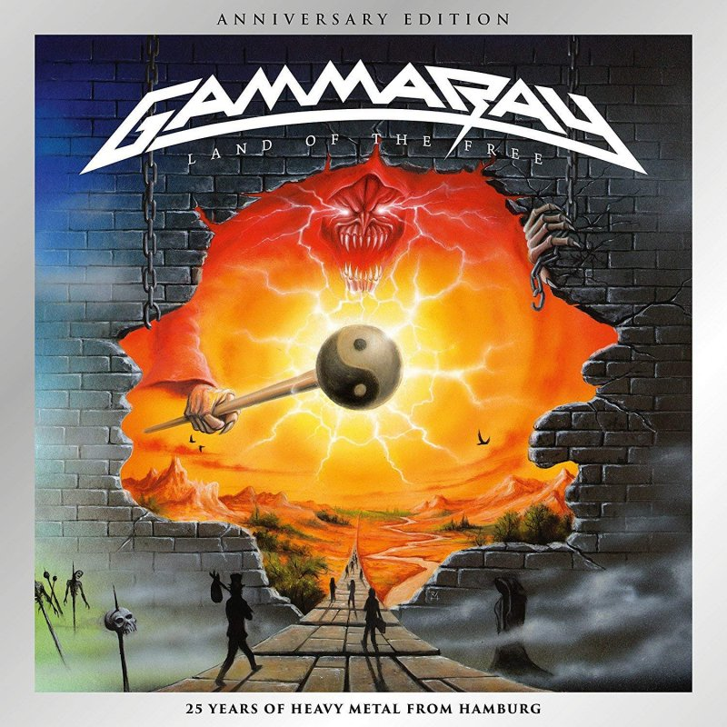 Billede af Gamma Ray - Land Of The Free - 2017 Reissue - CD