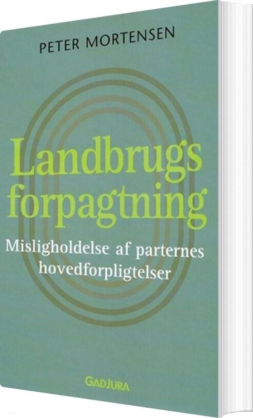 Image of   Landbrugsforpagtning - Peter Mortensen - Bog