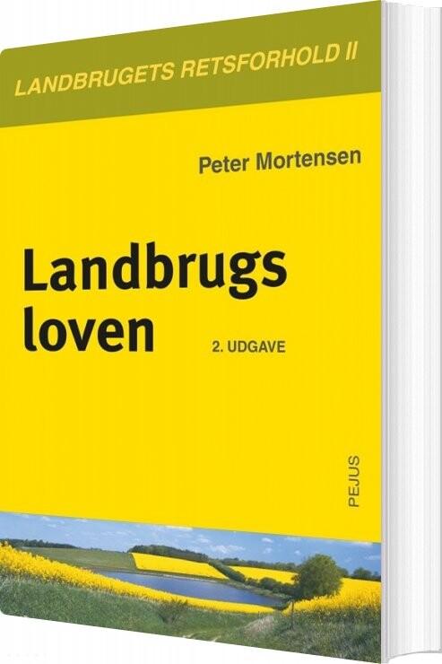Landbrugsloven - Peter Mortensen - Bog