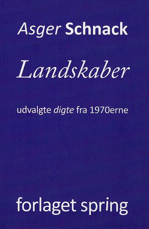 Landskaber - Asger Schnack - Bog