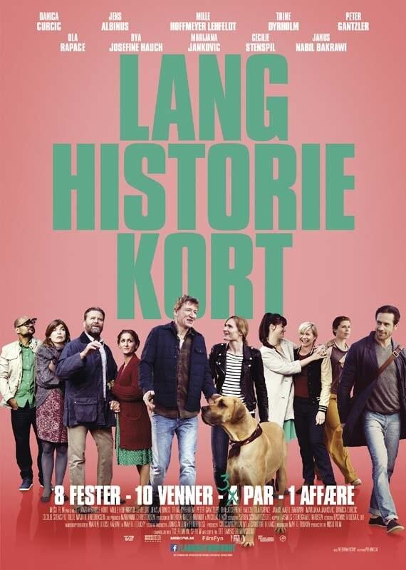 Image of   Lang Historie Kort - DVD - Film