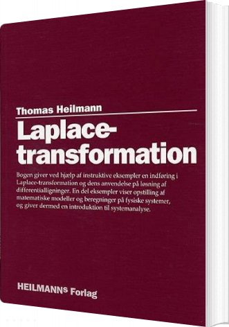 Image of   Laplace-transformation - Thomas Heilmann - Bog