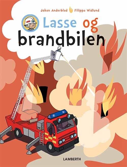 Lasse Og Brandbilen - Johan Anderblad - Bog