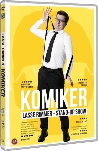 Image of   Lasse Rimmer - Komiker - DVD - Film