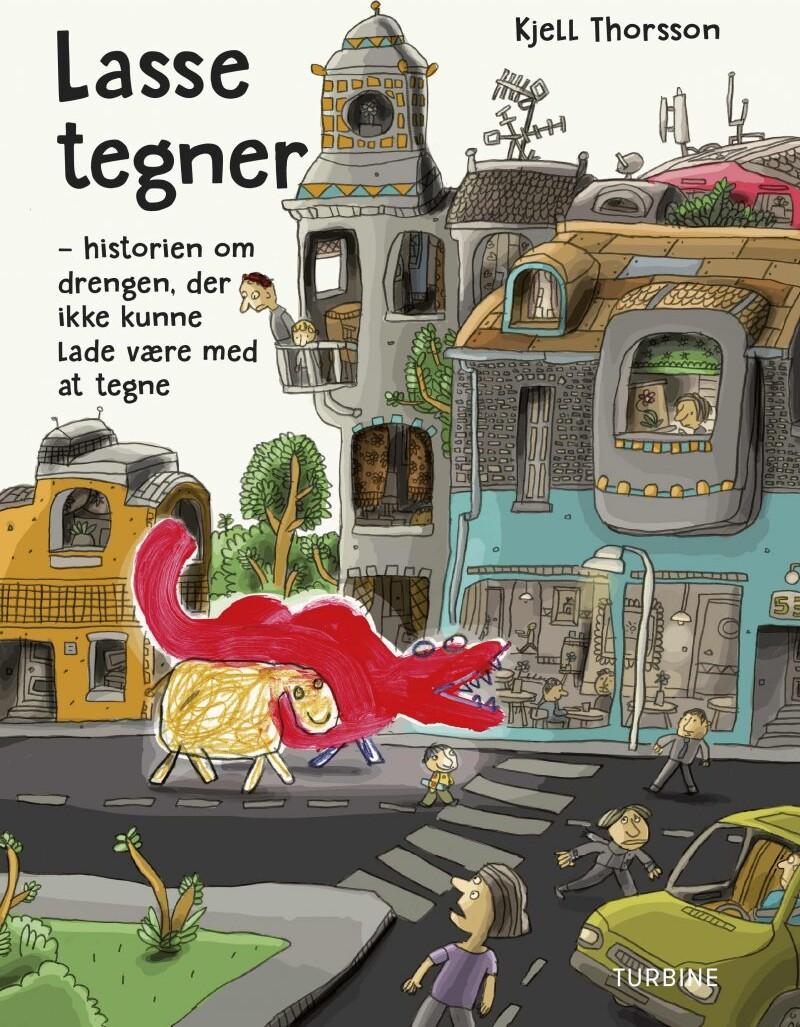 Lasse Tegner - Kjell Thorsson - Bog