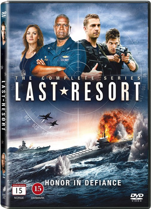 Image of   Last Resort - Sæson 1 - DVD - Tv-serie