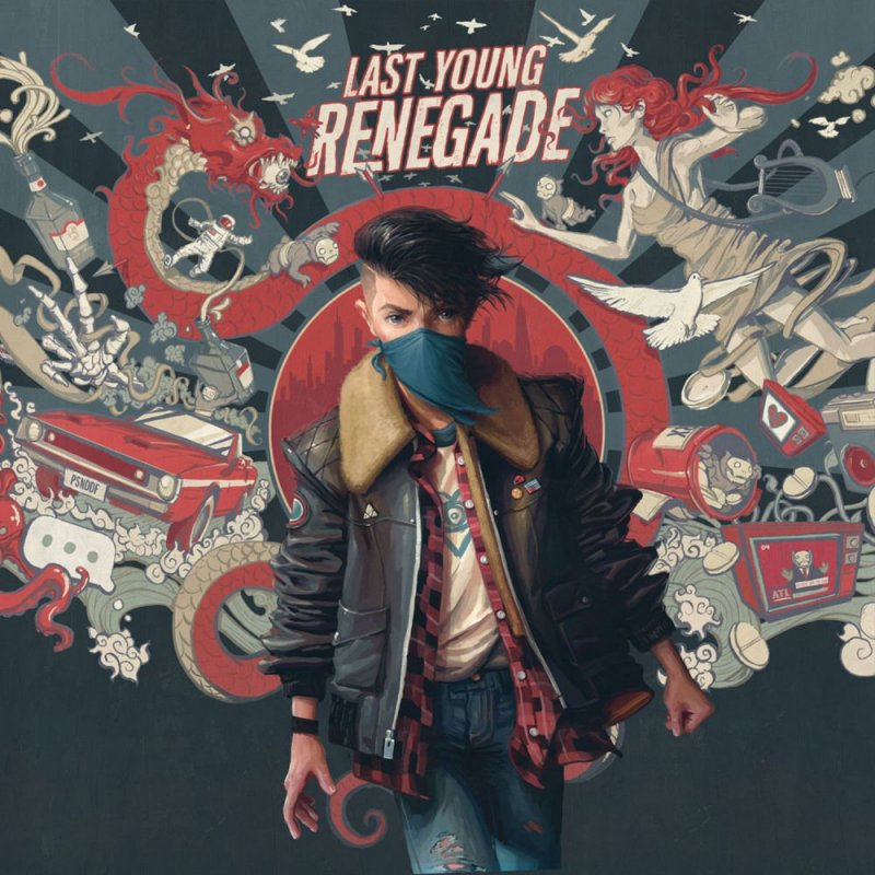 Image of   All Time Low - Last Young Renegade - CD