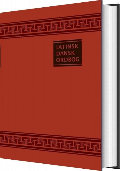 Latin Ordbog - Jensen & Goldschmidt - J. Th. Jensen - Bog