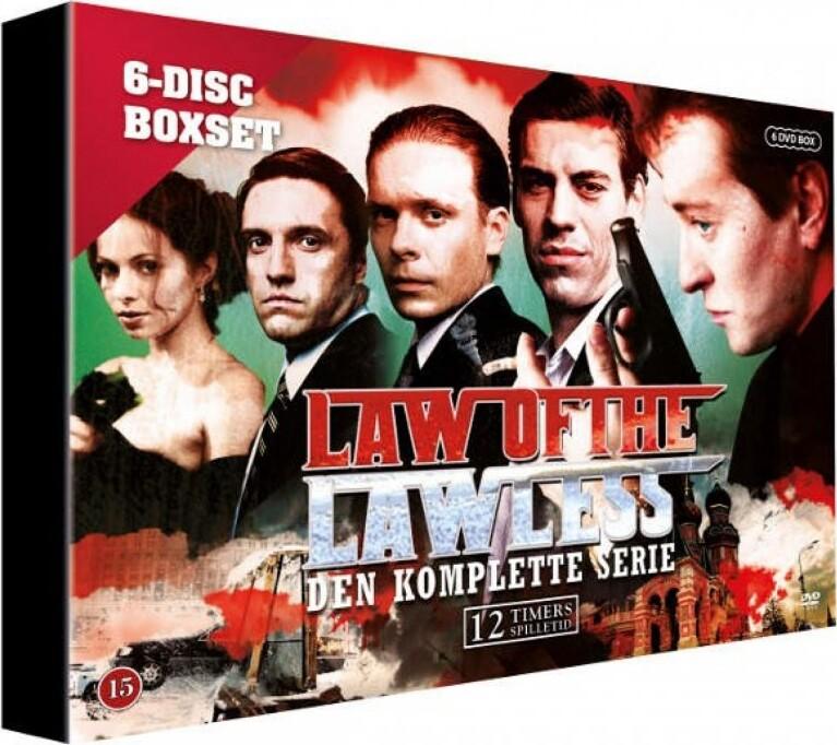 Image of   Law Of The Lawless Den Komplette Serie - DVD - Tv-serie