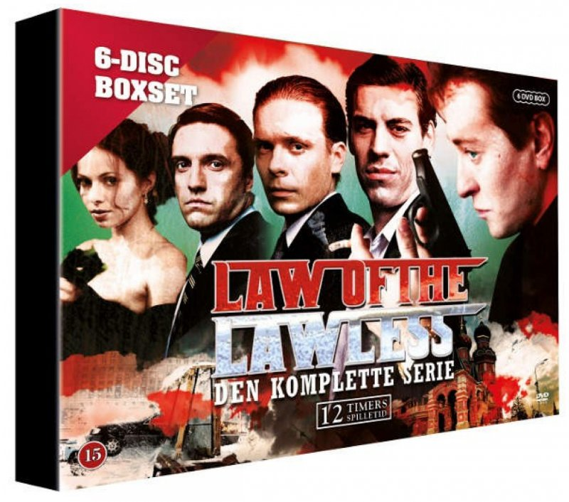 Image of   Law Of The Lawless Den Komplette Serie - DVD - Tv-serie