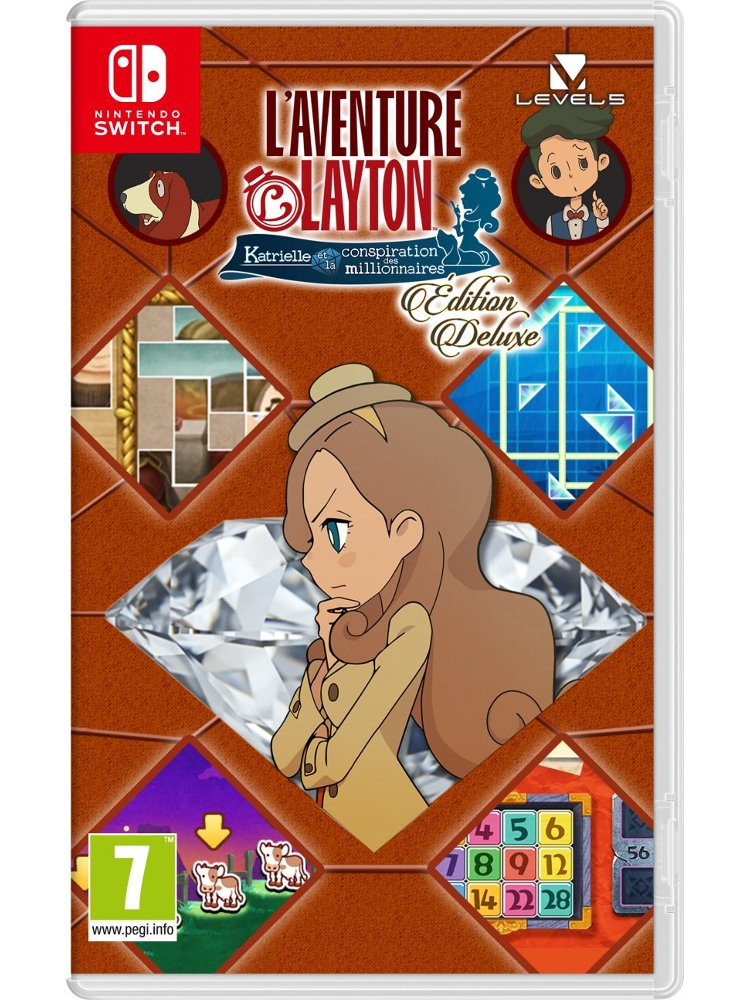 Image of   Layton's Mystery Journey: Katrielle And The Millionaires Conspiracy (deluxe Edition) - Nintendo Switch