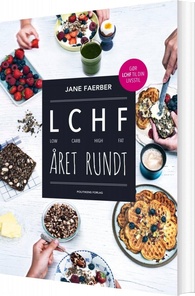 Lchf året Rundt - Jane Faerber - Bog