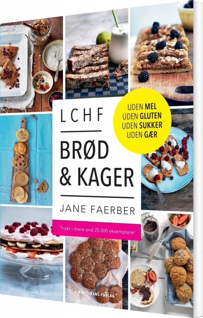 Lchf - Brød Og Kager - Jane Faerber - Bog