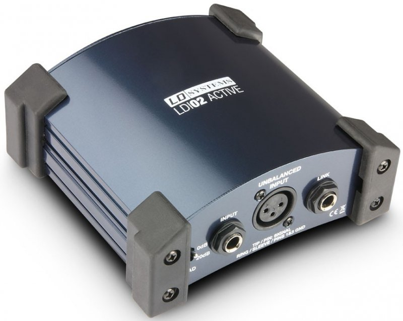Image of   Ld Systems Ldi02 Active Di Box