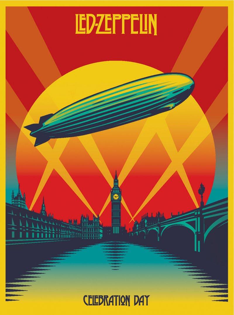 Image of   Led Zeppelin - Celebration Day - Blu-Ray