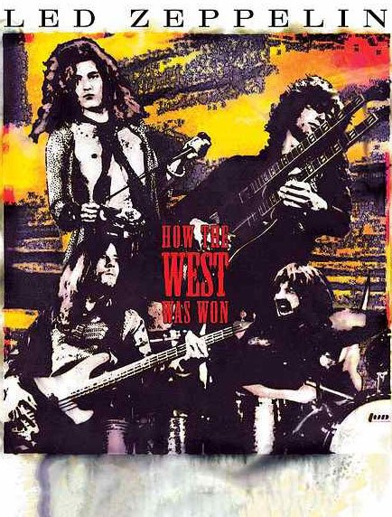 Image of   Led Zeppelin How The West Was Won - Blu-Ray