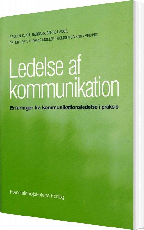 Ledelse Af Kommunikation Af Preben Kjær → Køb bogen billigt her