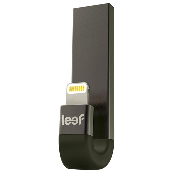 Image of   Leef Ibridge 3 - Usb 3.1 Lightning Stik Til Iphone Og Ipad - 16gb - Sort