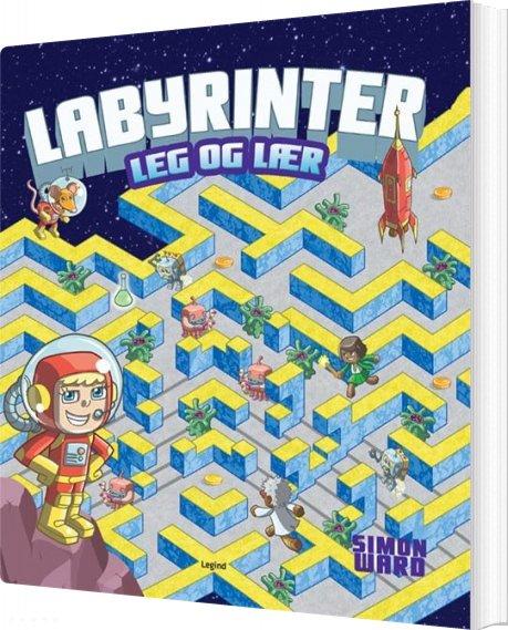 Image of   Leg Og Lær: Labyrinter - Bog