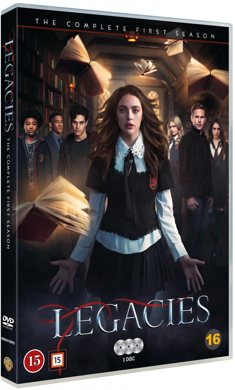 Image of   Legacies - Sæson 1 - DVD - Tv-serie