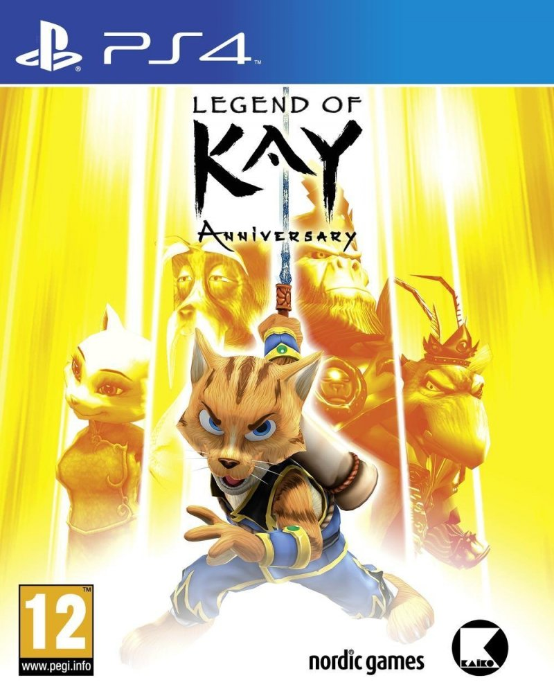 Image of   Legend Of Kay Anniversary - PS4