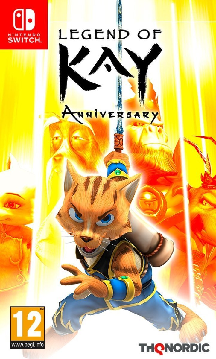 Image of   Legend Of Kay Anniversary - Nintendo Switch