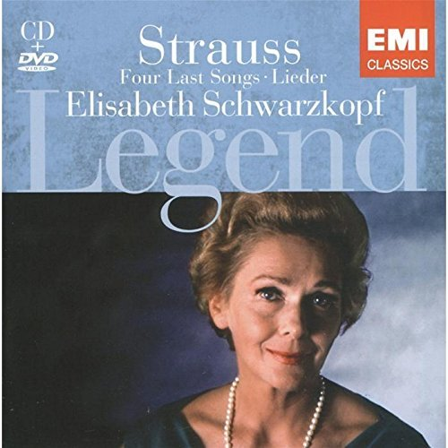 Image of   Elisabeth Schwarzkopf - Legends (cd + Dvd) - CD
