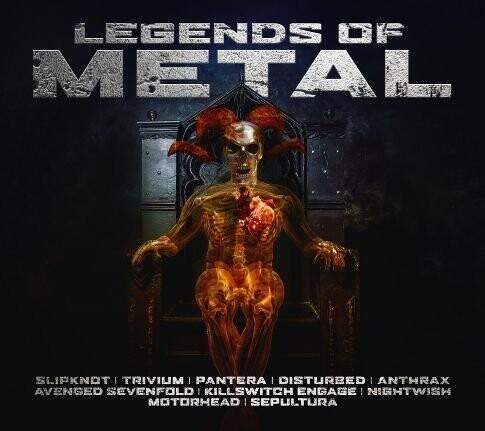 Legends Of Metal - CD