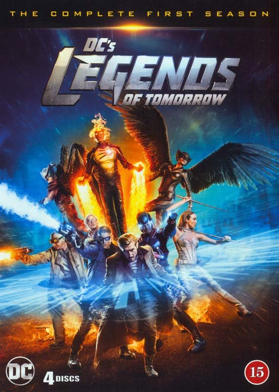 Image of   Legends Of Tomorrow - Sæson 1 - DVD - Tv-serie