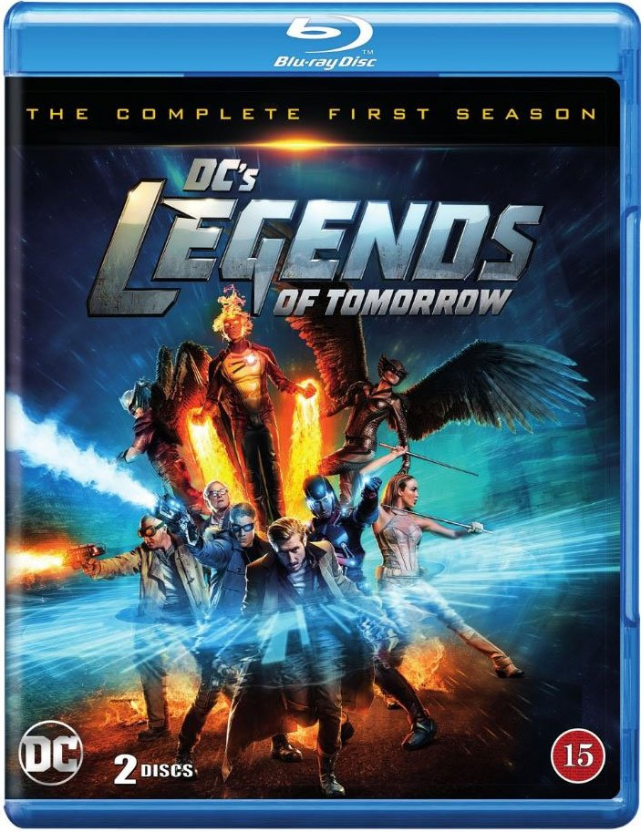Image of   Legends Of Tomorrow - Sæson 1 - Blu-Ray - Tv-serie