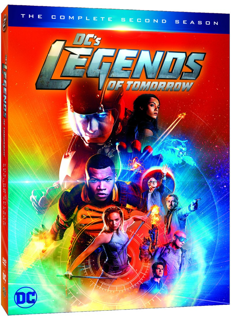 Image of   Legends Of Tomorrow - Sæson 2 - DVD - Tv-serie