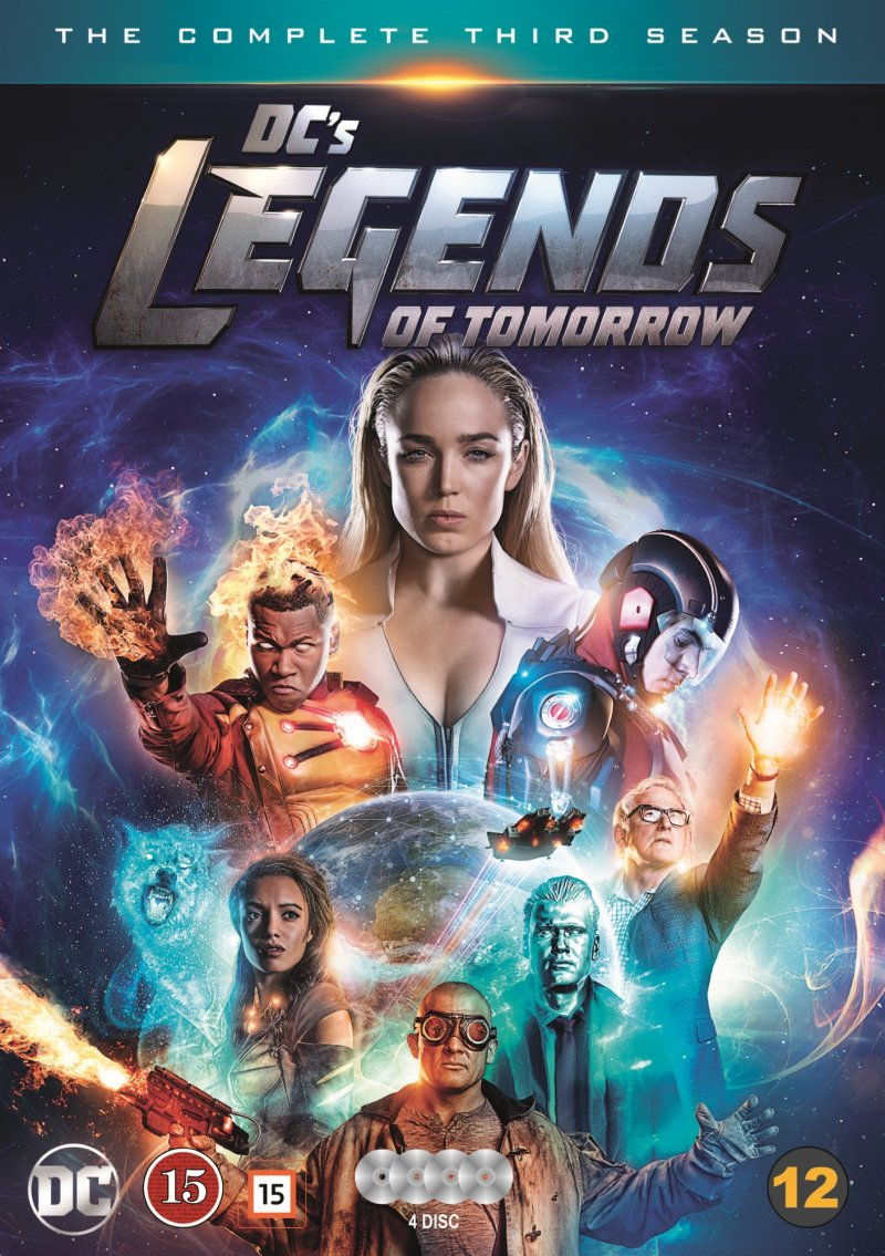 Image of   Legends Of Tomorrow - Sæson 3 - DVD - Tv-serie