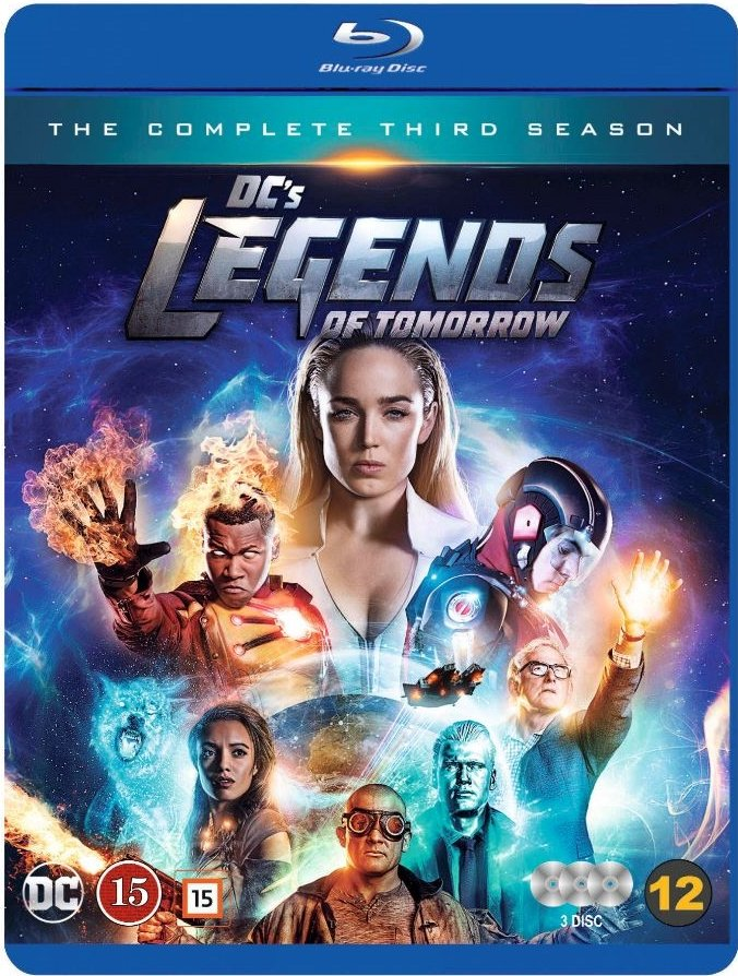 Image of   Legends Of Tomorrow - Sæson 3 - Blu-Ray - Tv-serie
