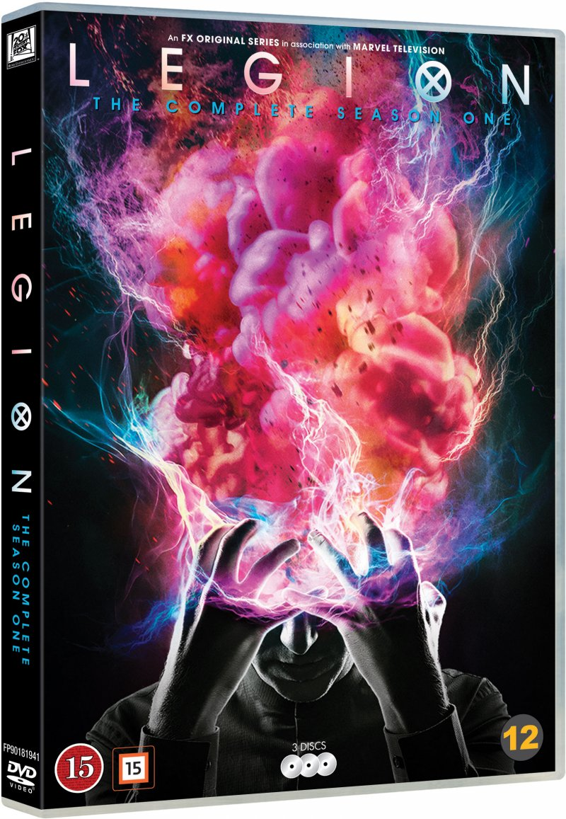 Image of   Legion - Sæson 1 - DVD - Tv-serie