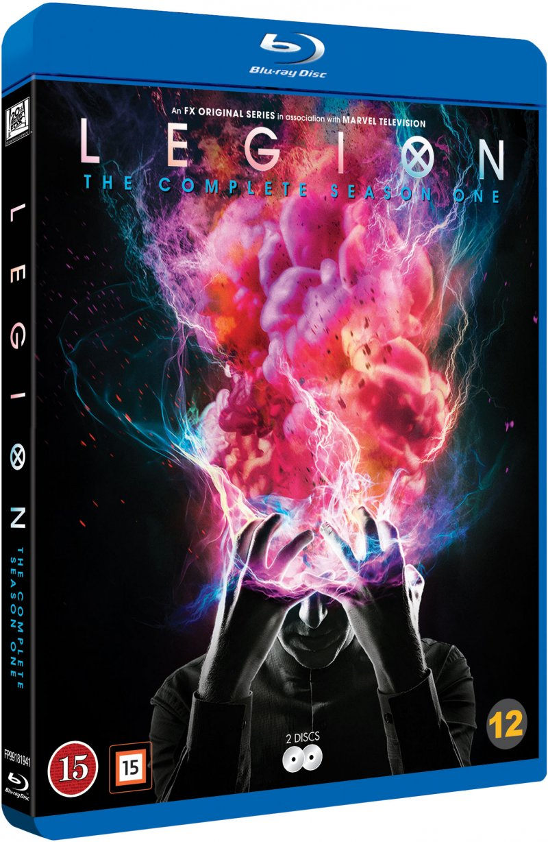 Image of   Legion - Sæson 1 - Blu-Ray - Tv-serie