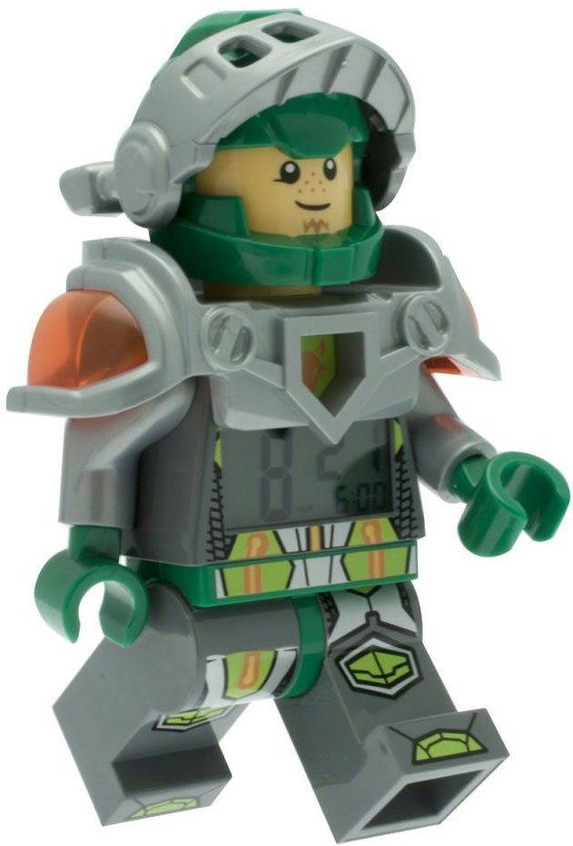 Lego Vækkeur - Nexo Knight Aaron