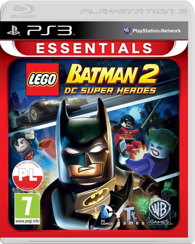 Image of   Lego Batman 2: Dc Super Heroes - Essentials - PS3