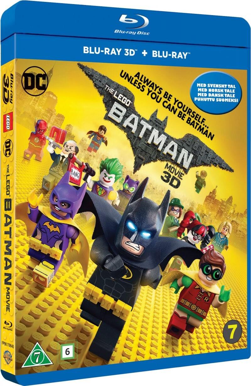 Billede af Lego Batman Filmen / The Lego Batman Movie (3d + 2d Blu-ray) -