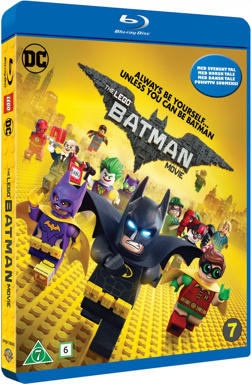 Image of   Lego Batman Filmen / The Lego Batman Movie - Blu-Ray