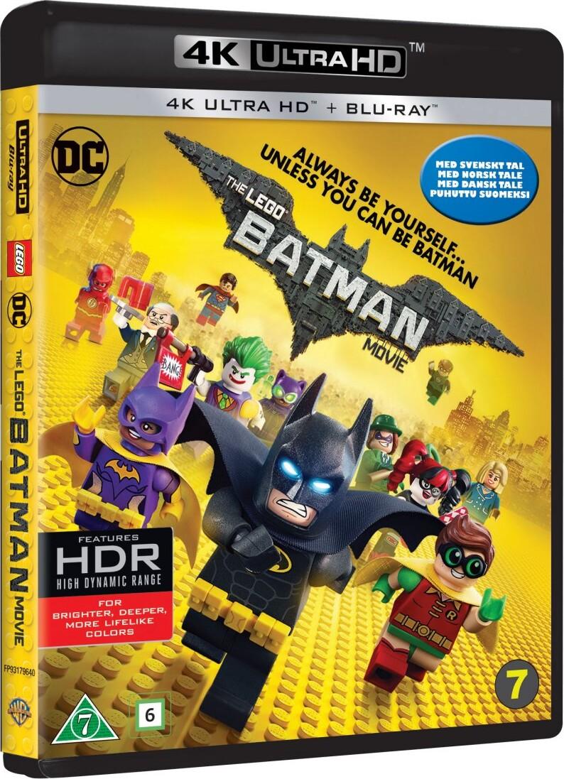 Billede af Lego Batman Filmen / The Lego Batman Movie - 4K Blu-Ray