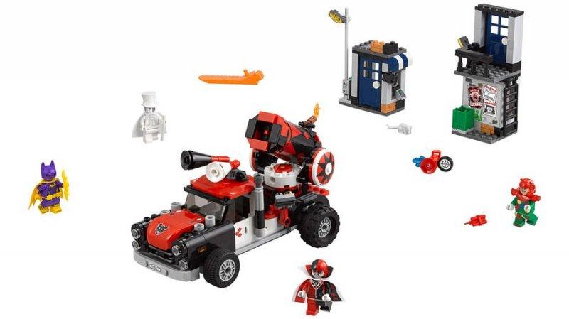 Image of   Lego Batman 70921 - Harley Quinn Kanonkugleangreb