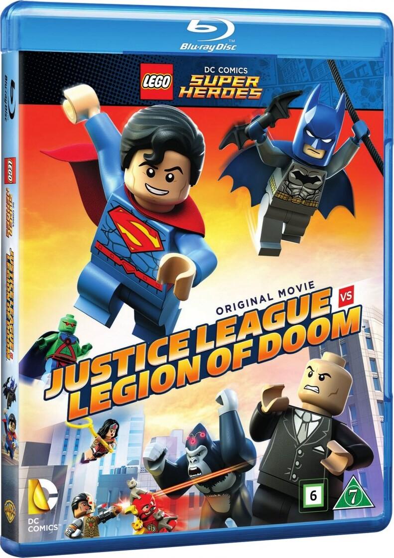 Billede af Lego Batman: Justice League Vs Legion Of Doom - Blu-Ray