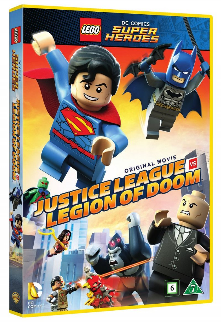 Billede af Dc Comics Super Heroes: Justice League Vs. Legion Of Doom - DVD - Film