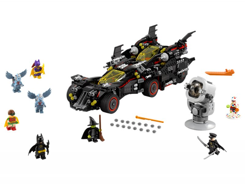 Image of   Lego Batman Movie 70917 - Den Ultimative Batmobil