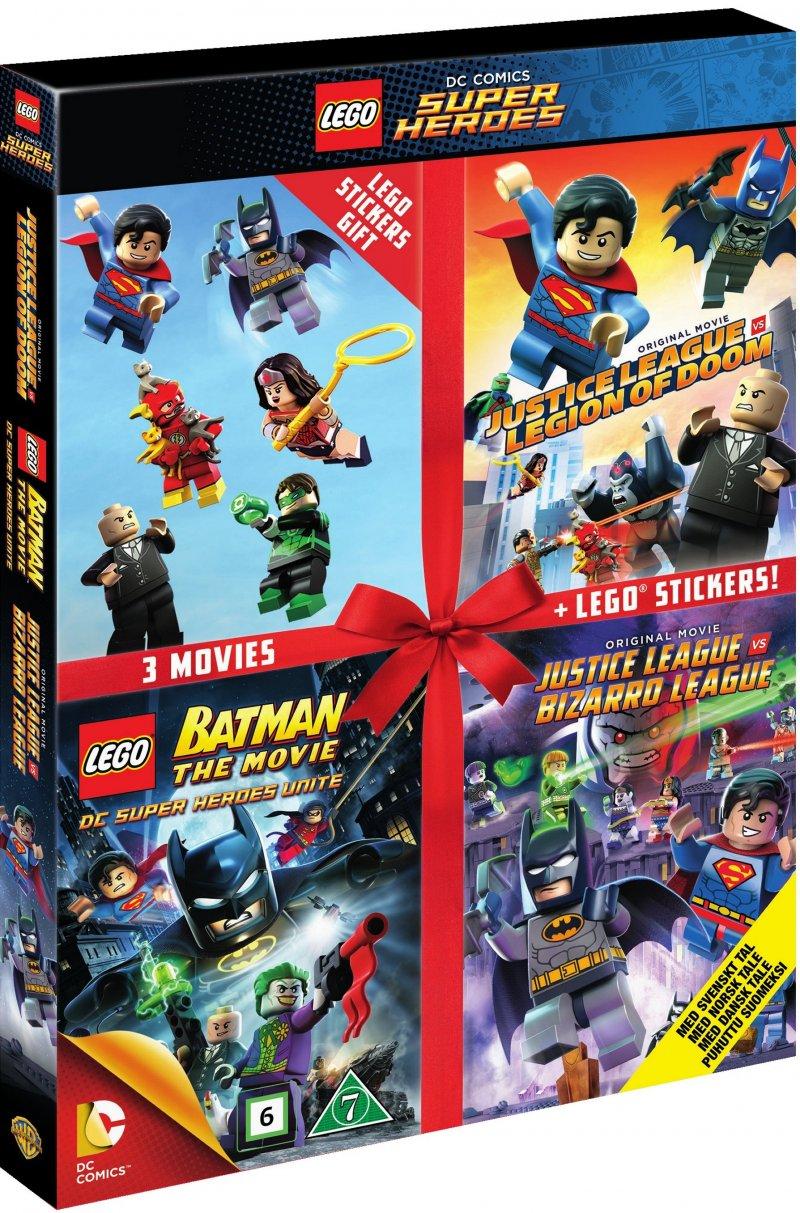 Billede af Lego: Batman The Movie // Justice League Vs. Legion Of Doom // Justice League Vs. Bizarro - DVD - Film