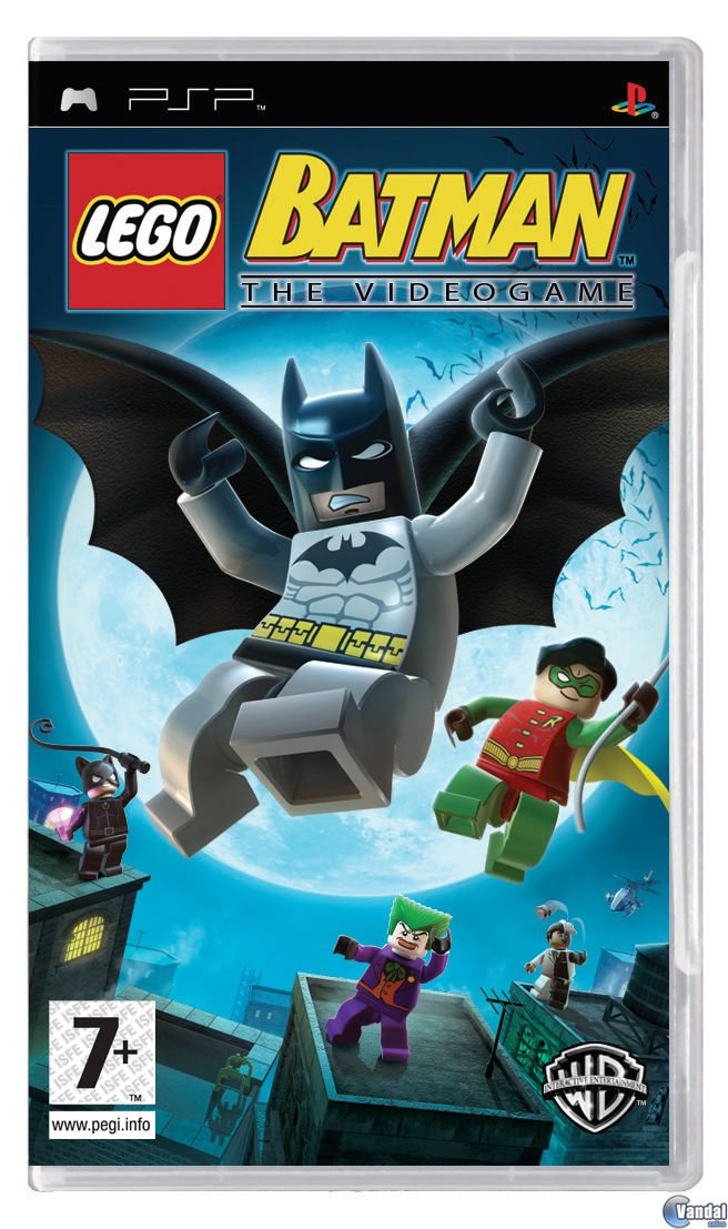 Lego Batman: The Videogame - Psp