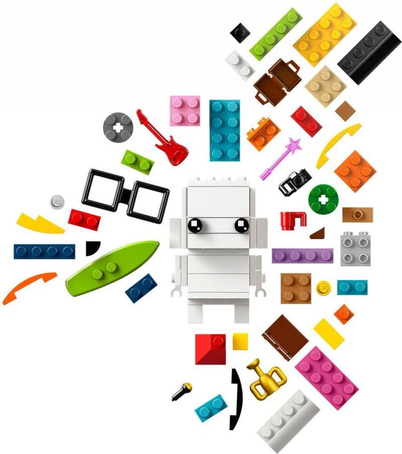 Image of   Lego Brick Headz - Klods Mig (41597)